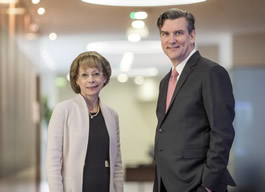 Nancy McKinstry, CEO, and Kevin Entricken, CFO, Wolters Kluwer