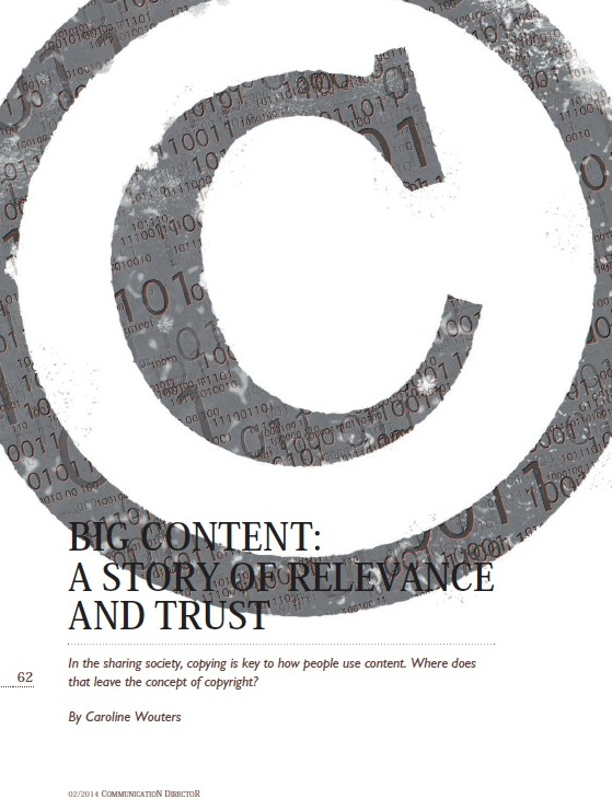 Big Content: A story of relevance and trust