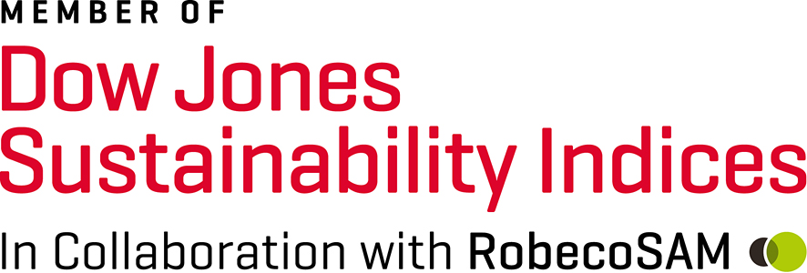 Member of Dow Jone Sustainability Indices