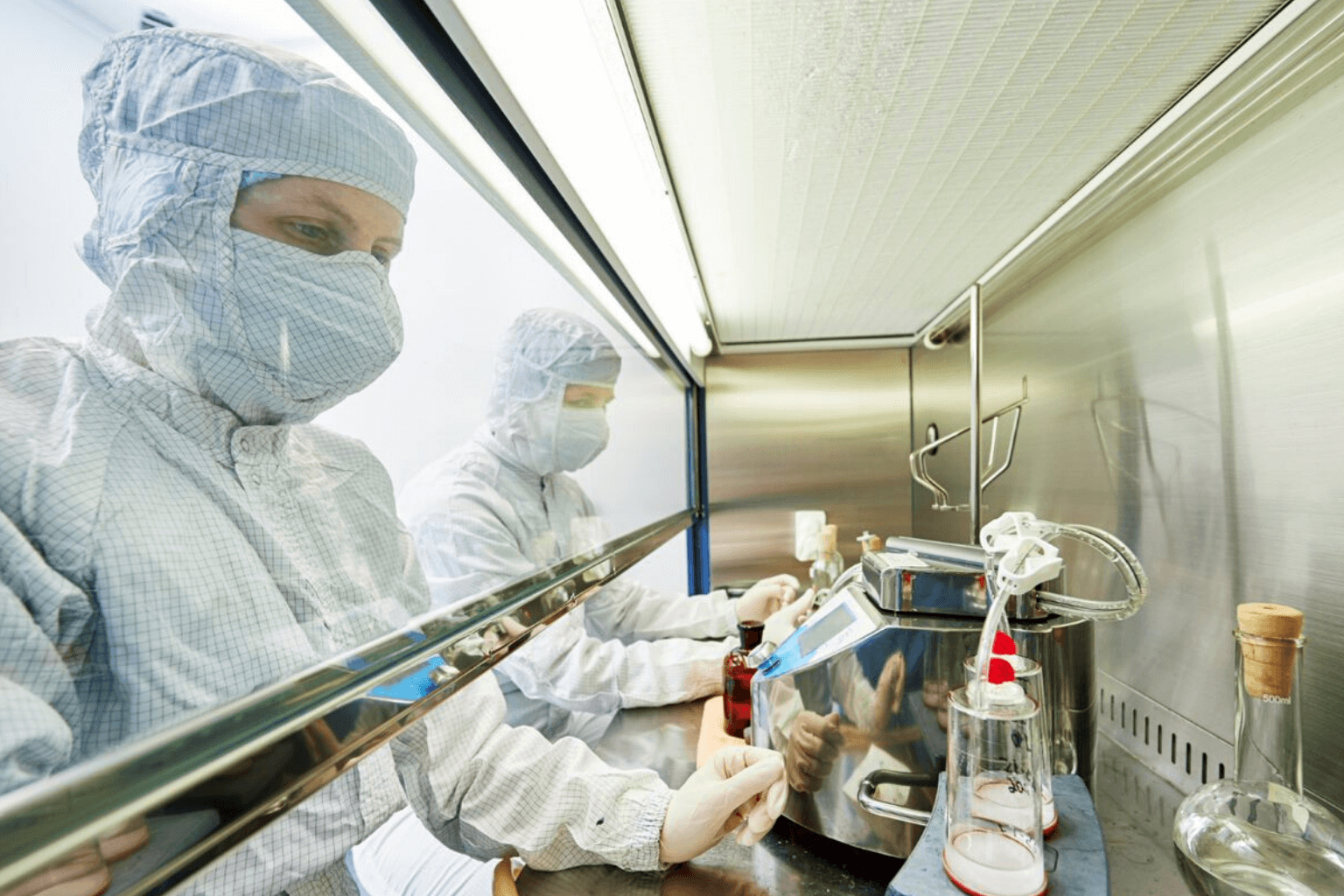 Sterile Compounding Under Hood