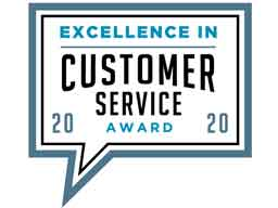 2020 BIG Award for Excellence in Customer Service