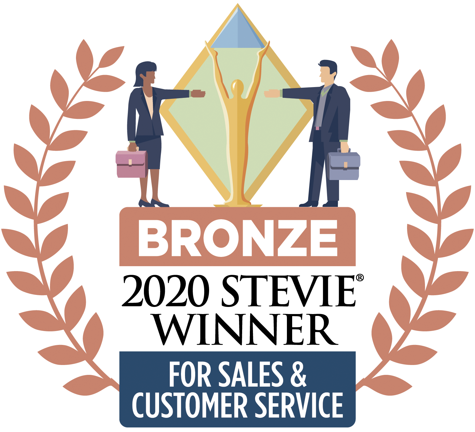 2020 Stevie Winner for Sales and Customer Service - Bronze
