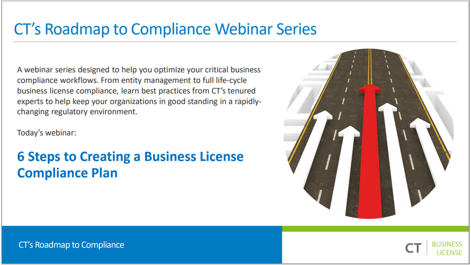 On-demand Webinar: Six Steps to Creating a Business License Compliance Plan
