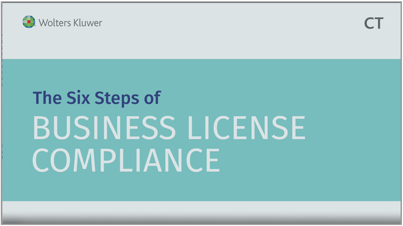 The Six Steps of Business License Compliance
