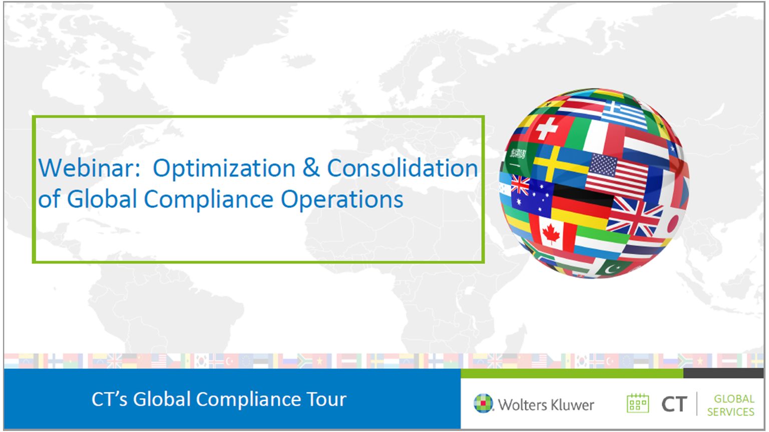 Webinar: Optimization & Consolidation of Global Compliance Operations