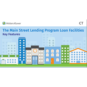 The Main Street Lending Program Loan Facilities Key Features
