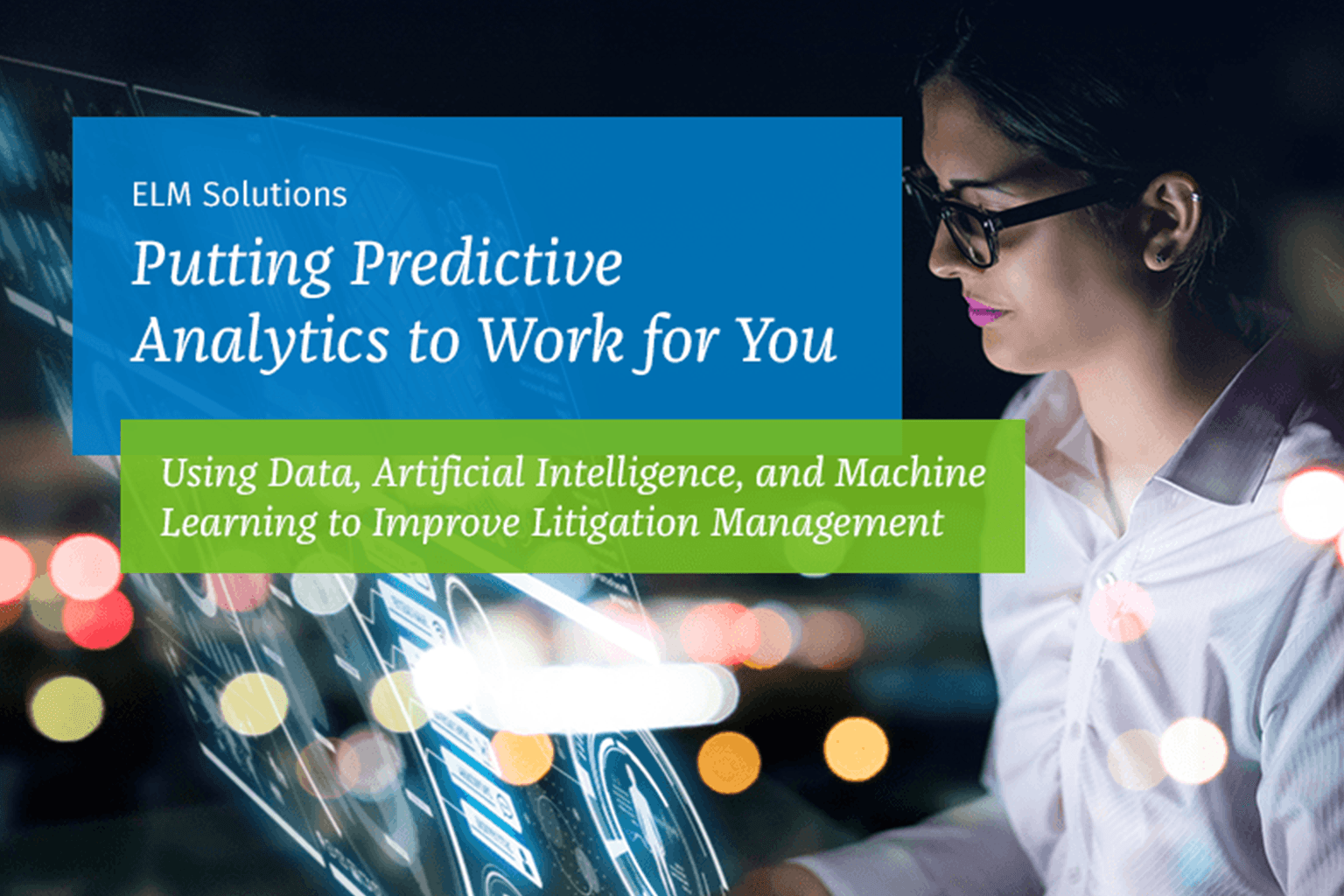 eBook: Putting Predictive Analytics to Work for You