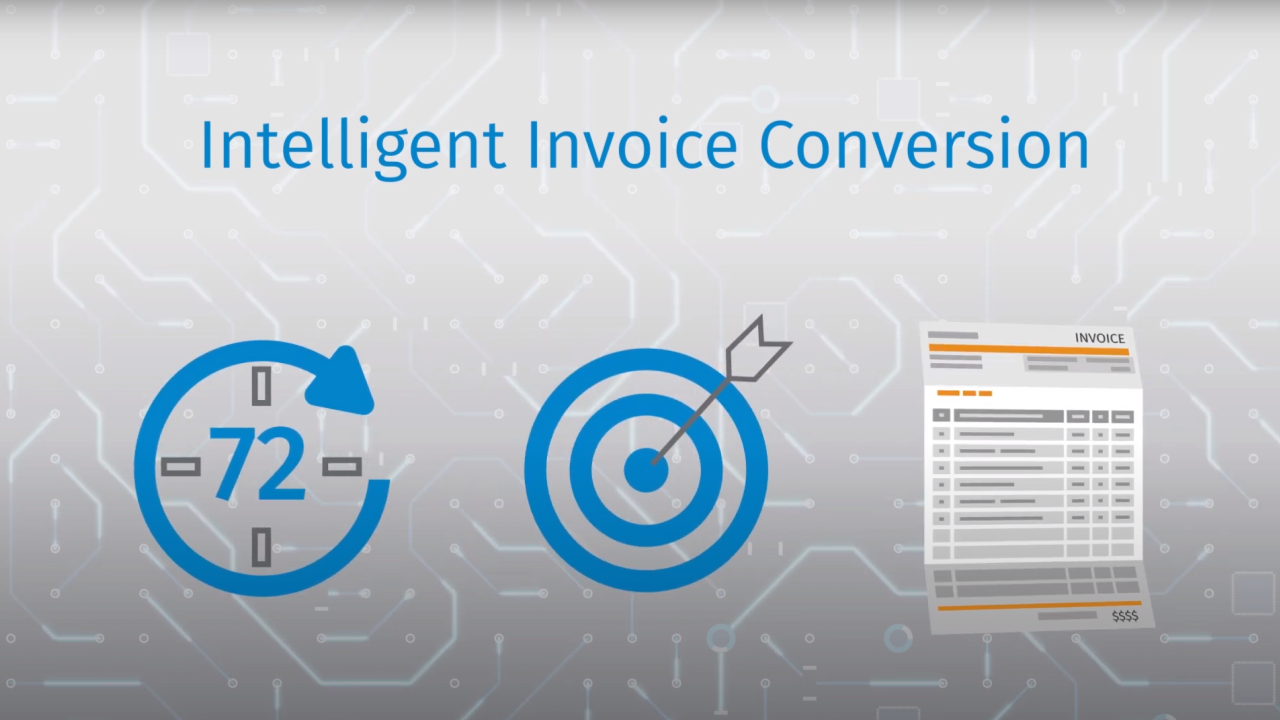 Convert paper invoices to LEDES file with AI