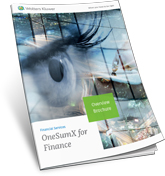 OneSumx for Finance Overview Brochure