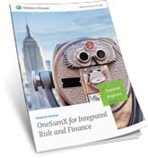 OneSumx Integrated Risk and Finance Brochure