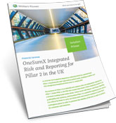 Integrated risk and Reporting for Pillar 2
