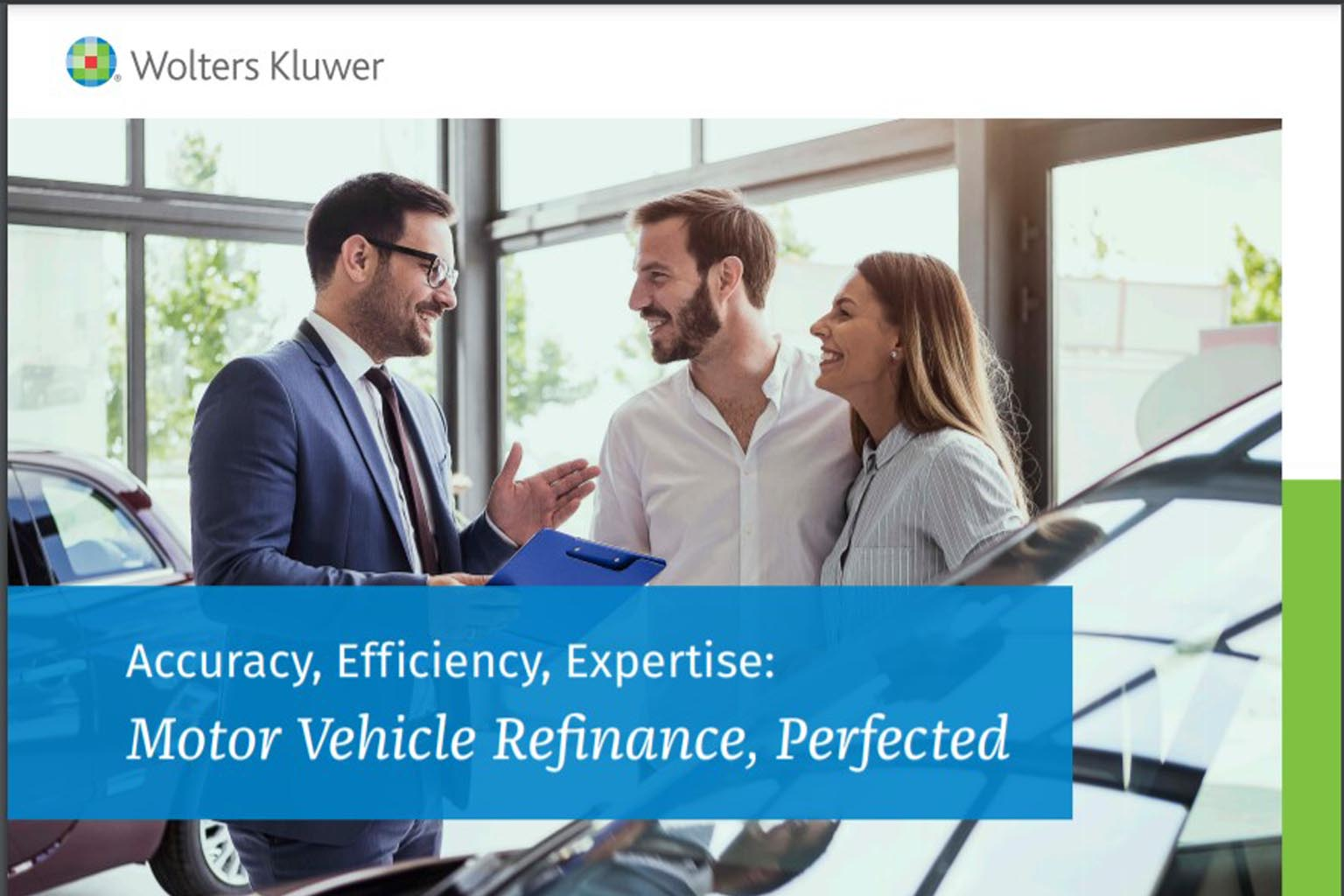 Motor Vehicle Refinance Perfected ebook