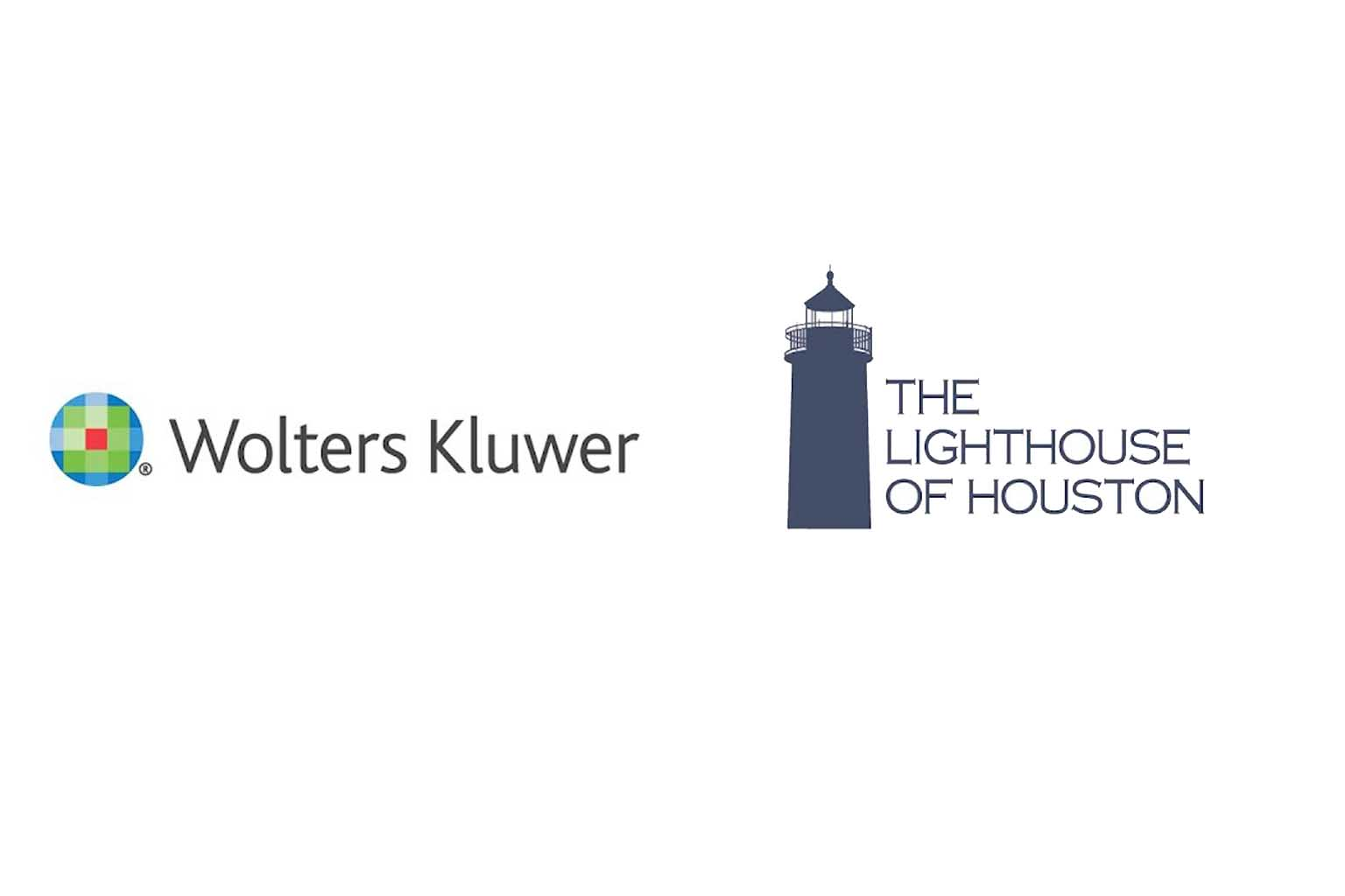 Wolters  Kluwer  and Lighthouse logos