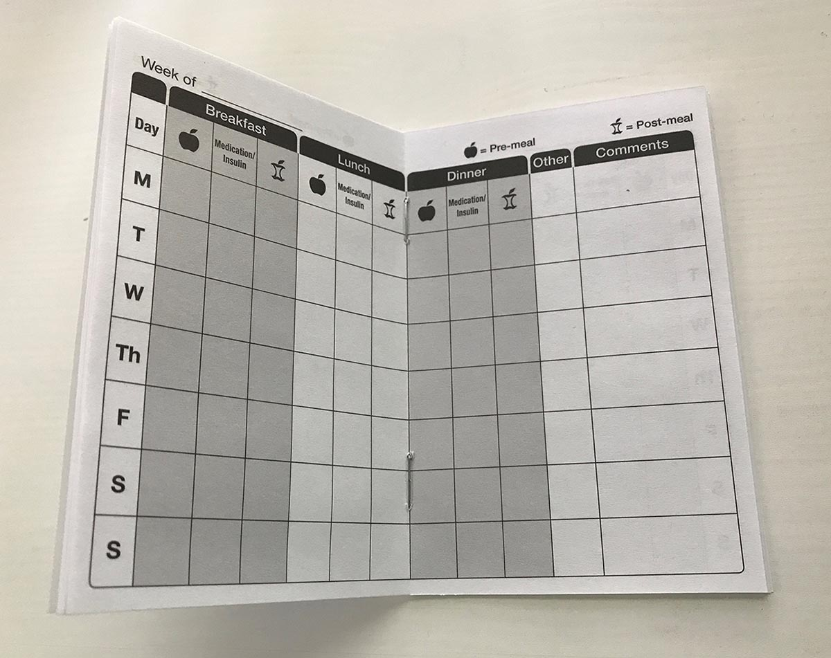 patient log book
