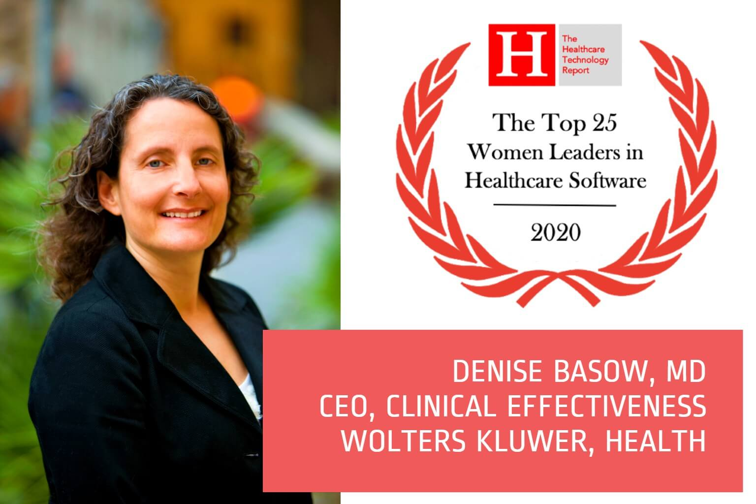 Denise Basow, MD - Women Leaders in Healthcare Software 2020