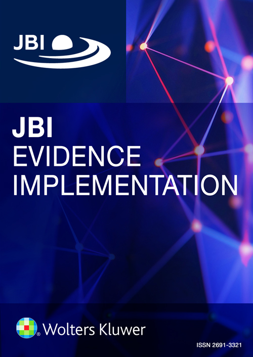 JBI Evidence Implementation book cover