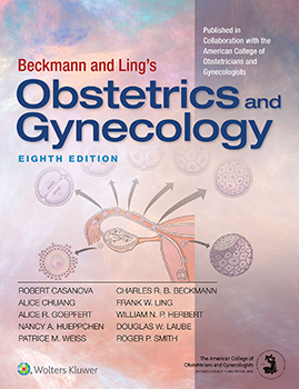 Beckmann and Ling's Obstetrics and Gynecology book cover