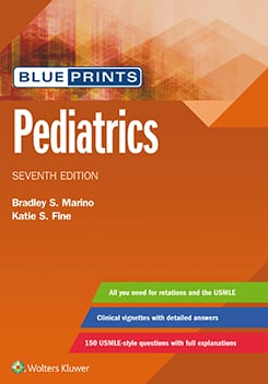 Blueprints Pediatrics book cover