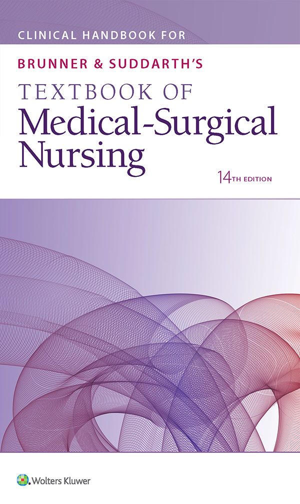 Clinical Handbook for Brunner & Suddarth's Textbook of Medical-Surgical Nursing, Fourteenth Edition book cover