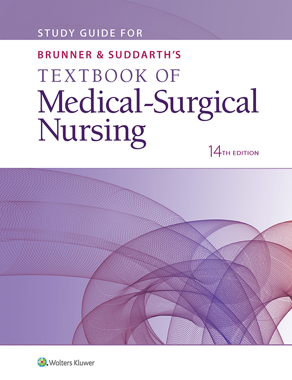 Study Guide for Brunner & Suddarth's Textbook of Medical-Surgical Nursing, Fourteenth Edition book cover