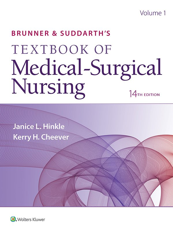Brunner & Suddarth's Textbook of Medical-Surgical Nursing, Fourteenth Edition book cover