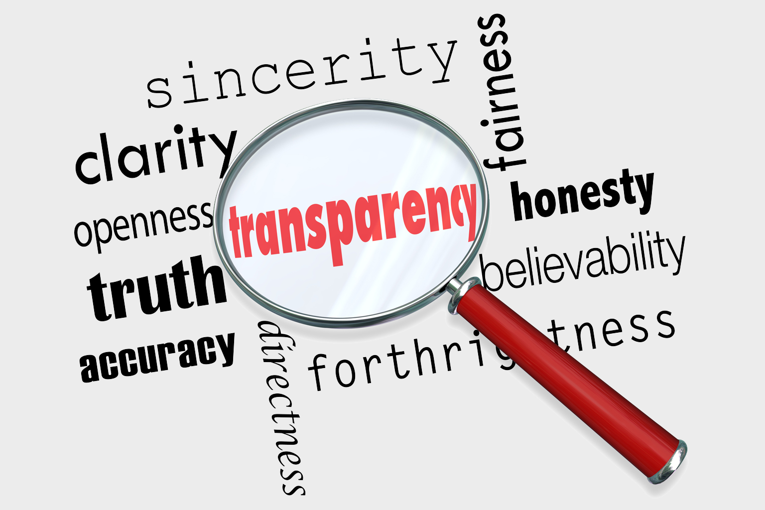 Transparency in research and reporting
