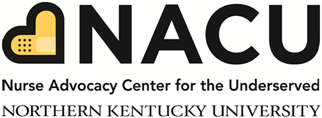 NACU, Nurse Advocacy Center for the Underserved, Northern Kentucky University logo