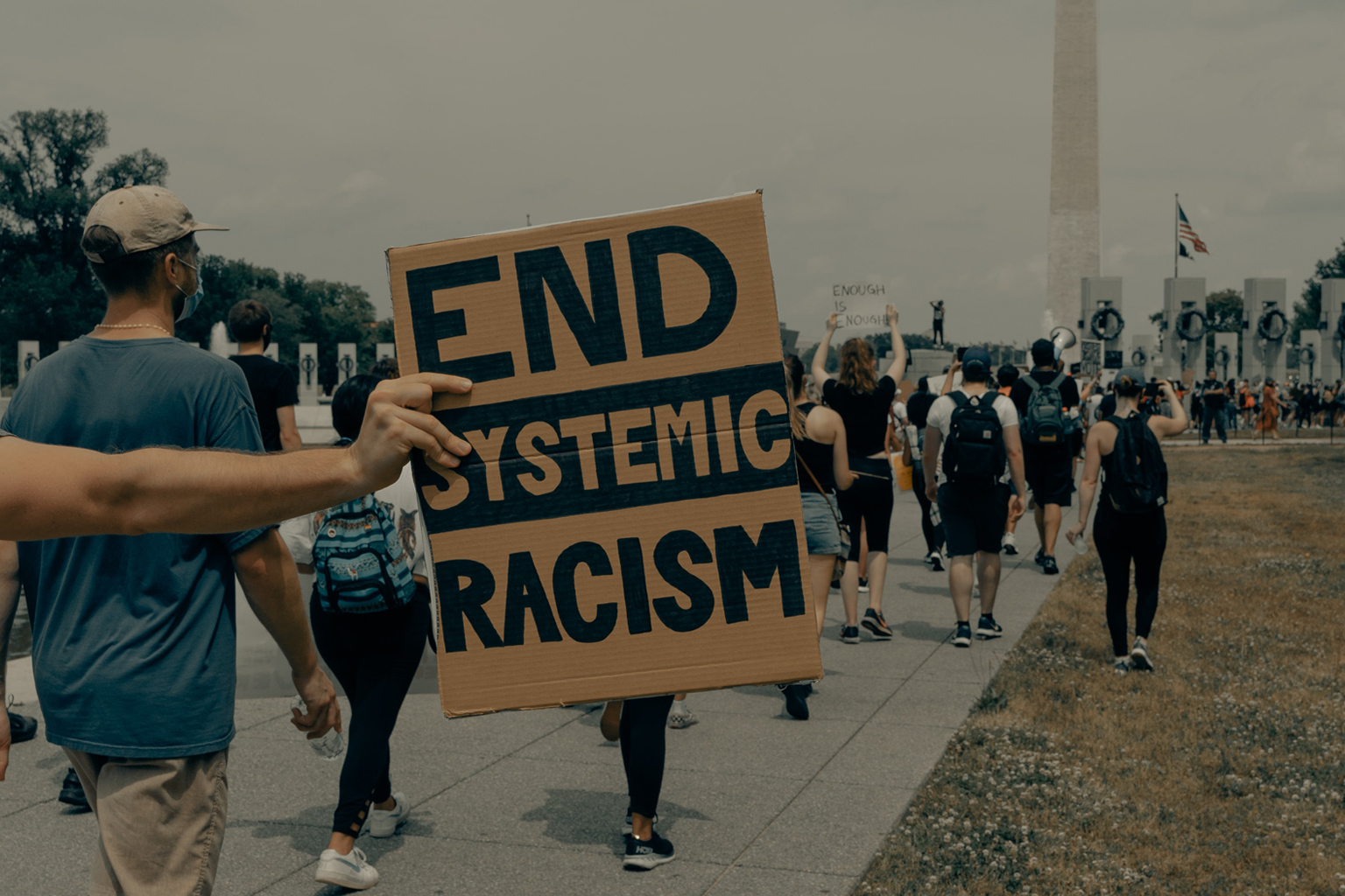 An end to chronic racism