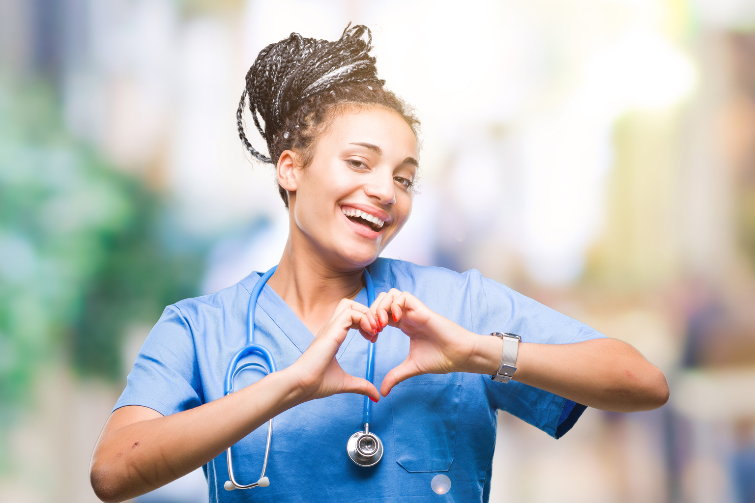 Chocolates and tissues: Nursing is a work of heart