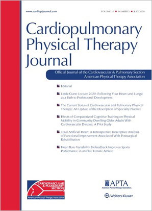 Cardiopulmonary Physical Therapy Journal