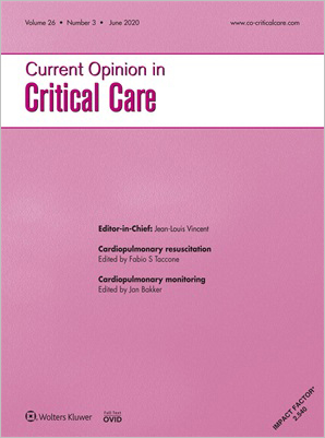 Current Opinion in Critical Care