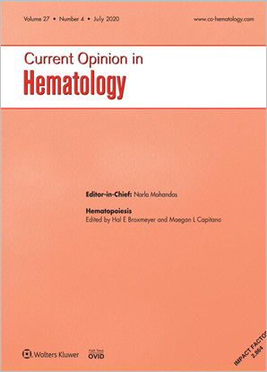 Current Opinion in Hematology