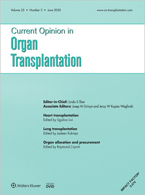 Current Opinion in Organ Transplantation
