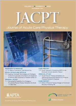 Journal of Acute Care Physical Therapy (JACPT)