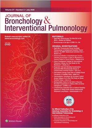 Journal of Bronchology & Interventional Pulmonology