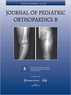 Journal of Pediatric Orthopaedics B