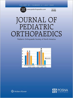 Journal of Pediatric Orthopaedics