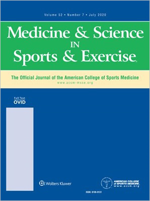 Medicine & Science in Sports & Exercise
