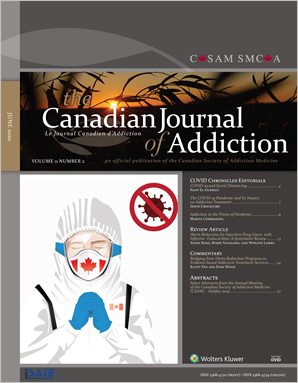 The Canadian Journal of Addiction