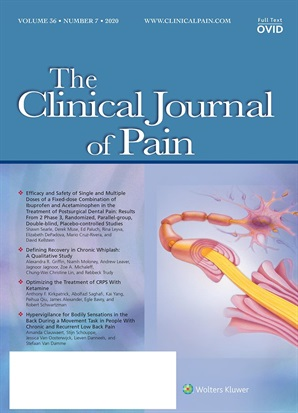 The Clinical Journal of Pain