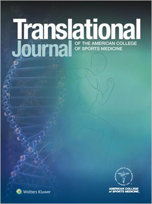 Translational Journal of the American College of Sports Medicine