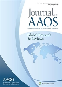 Journal AAOS journal cover