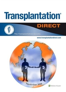 Transplantation Direct journal cover