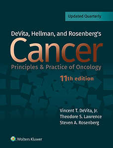 DeVita, Hellman, and Rosenberg's Cancer: Principles & Practice of Oncology book cover