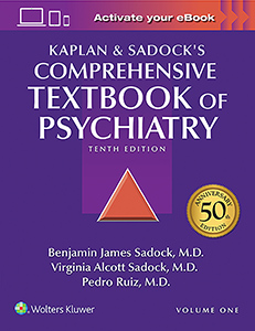 Kaplan-Sadock's Comprehensive Textbook of Psychiatry book cover