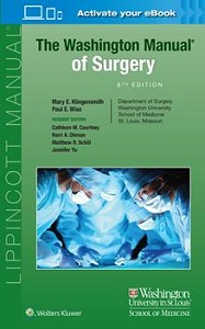 The Washington Manual of Surgery book cover