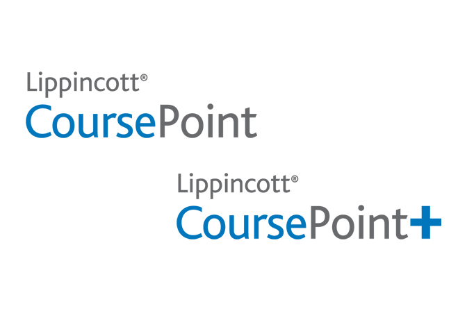 Lippincott CoursePoint and Lippincott CoursePoint+ logos
