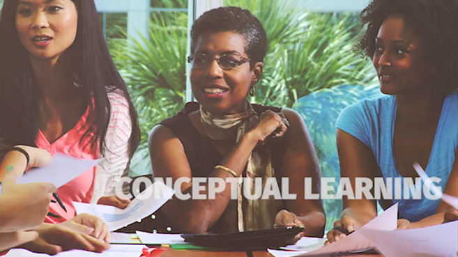 Screenshot of Conceptual Learning in Nursing Education video