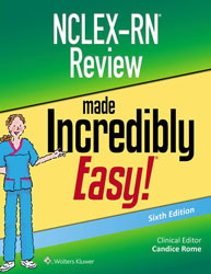 NCLEX-RN Review Made Incredibly Easy book cover