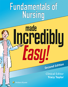 Fundamentals of Nursing Made Incredibly Easy! book cover